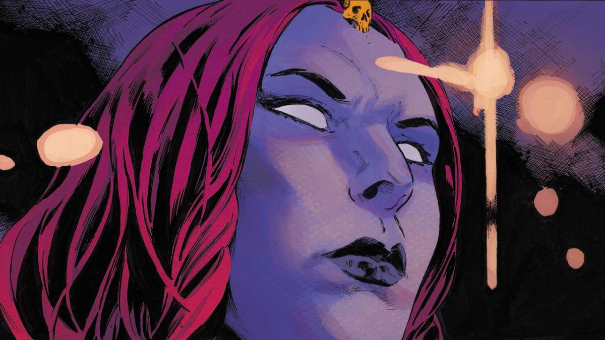 Mystique lucha por reunirse con su difunta esposa Destiny en X-Men # 20 a primera vista