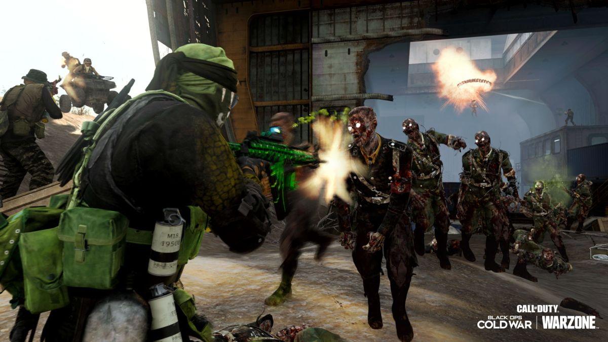 Los zombis de Call of Duty: Warzone ahora están invadiendo la red de televisión como si las noticias locales no estuvieran peleando lo suficiente