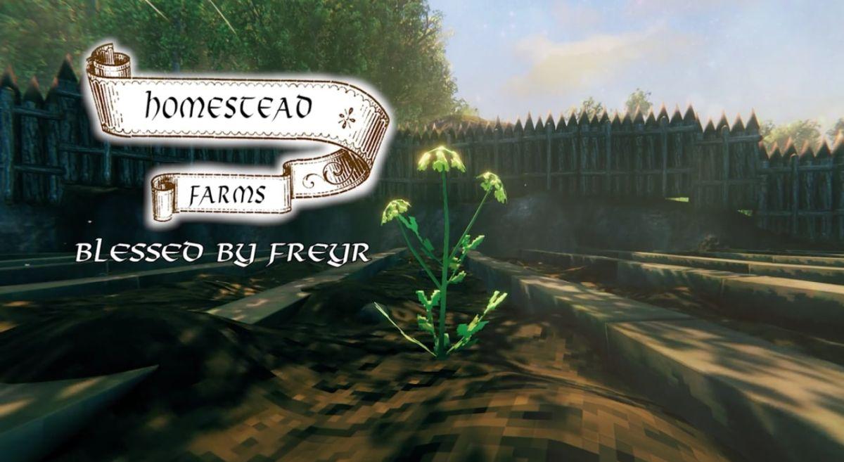 Un jugador de Valheim hace comerciales increíblemente profesionales para su granja en el juego.