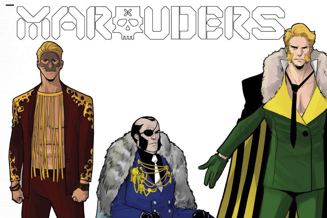 Otros X-Men muestran sus looks de Hellfire Gala en las portadas de Marauders y X-Force