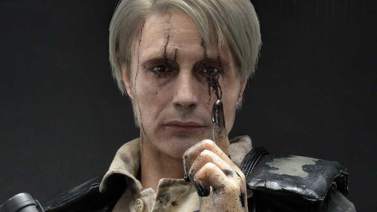 """La estatua de Death Stranding Mads Mikkelsen presenta zarcillos LED y un """"aspecto atractivo""""."""