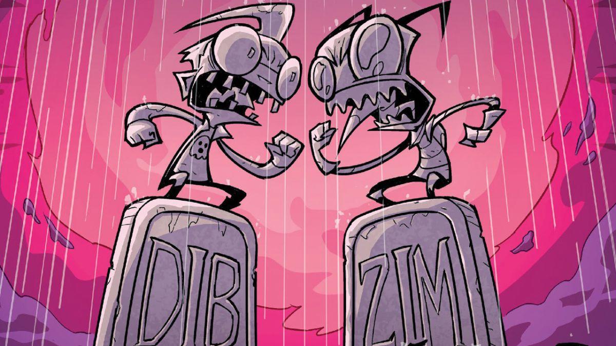 Jhonen Vasquez regresa a Invader Zim para el final del cómic