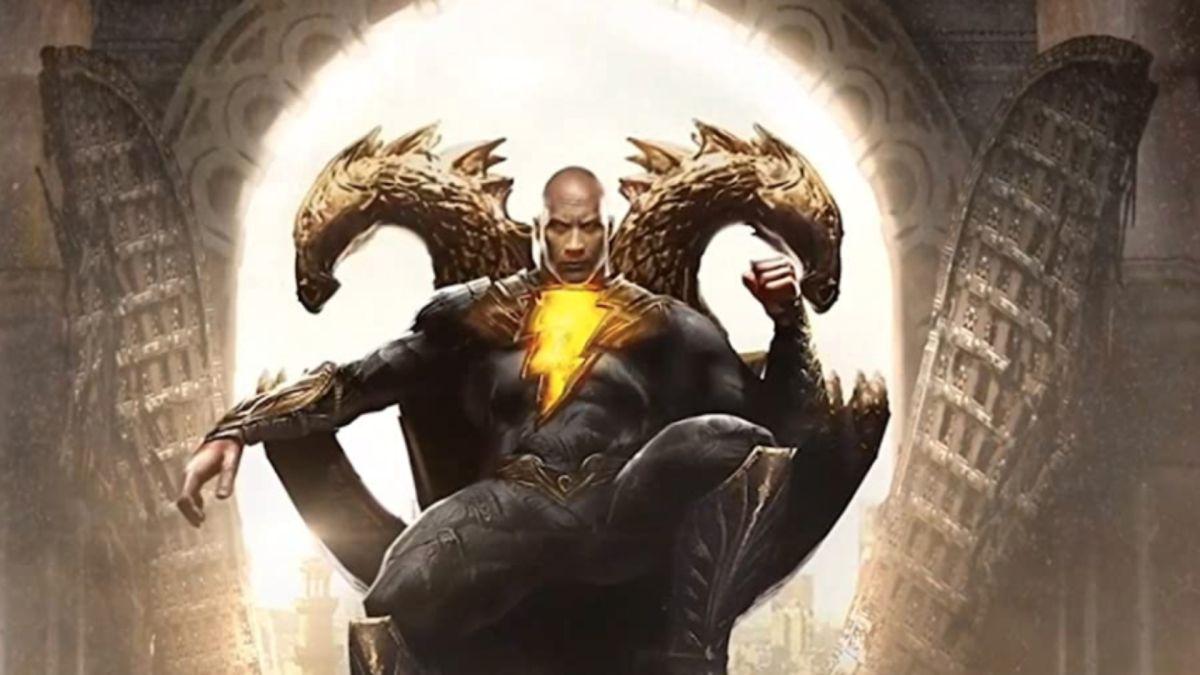 Nueva foto del set de Black Adam muestra una mirada más cercana al disfraz de Dwayne Johnson