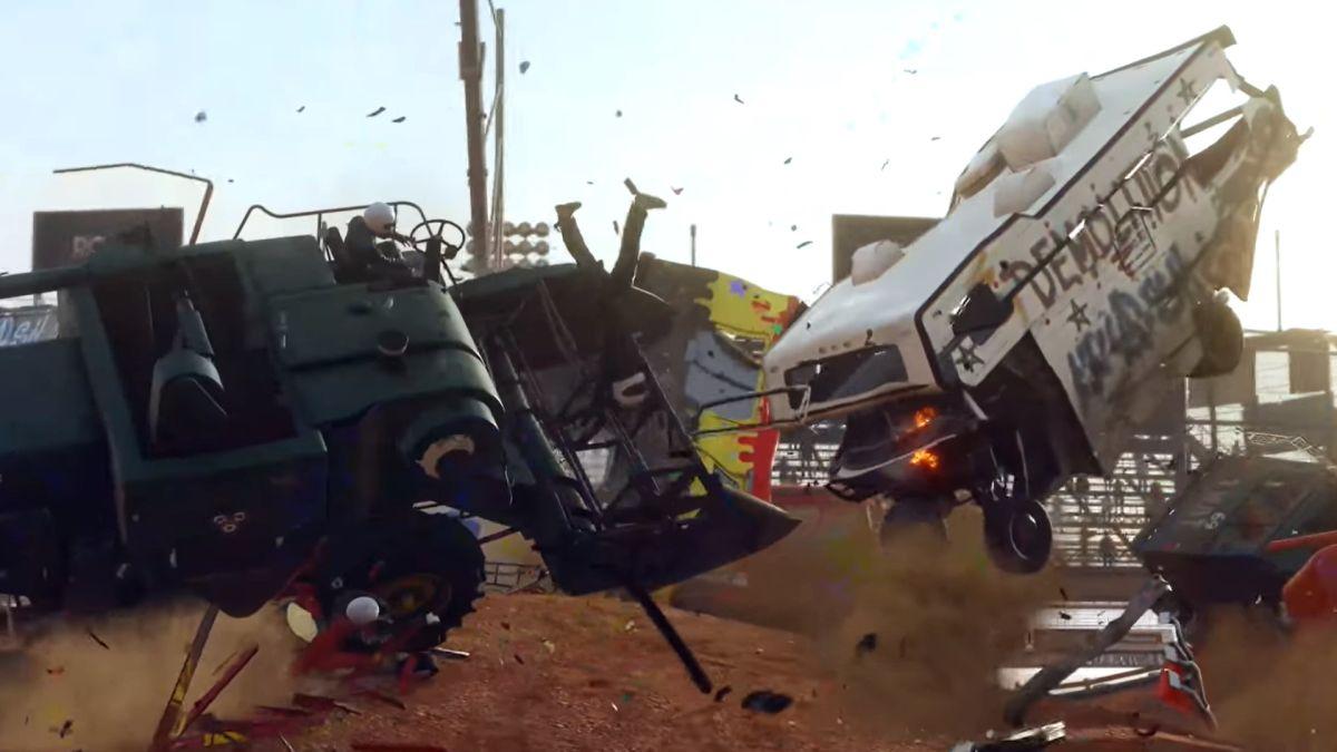 El tráiler de Wreckfest PS5 es acción 4K