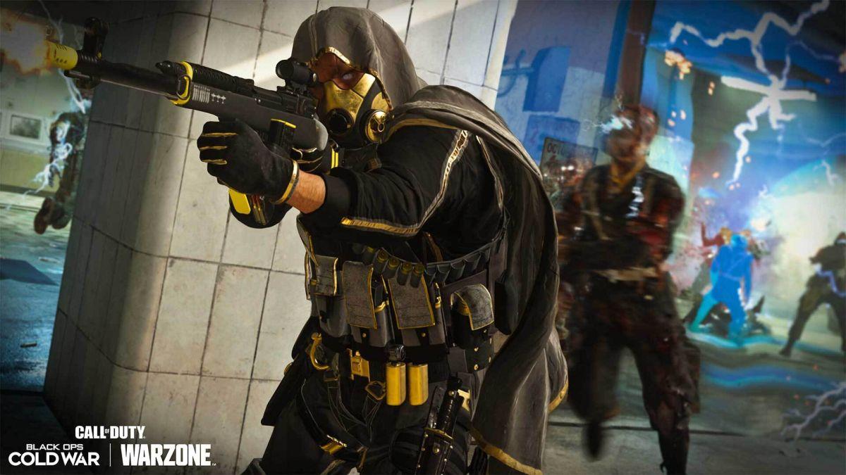 Observa a un jugador heroico de Warzone lidiar con los tramposos que se esconden debajo del mapa