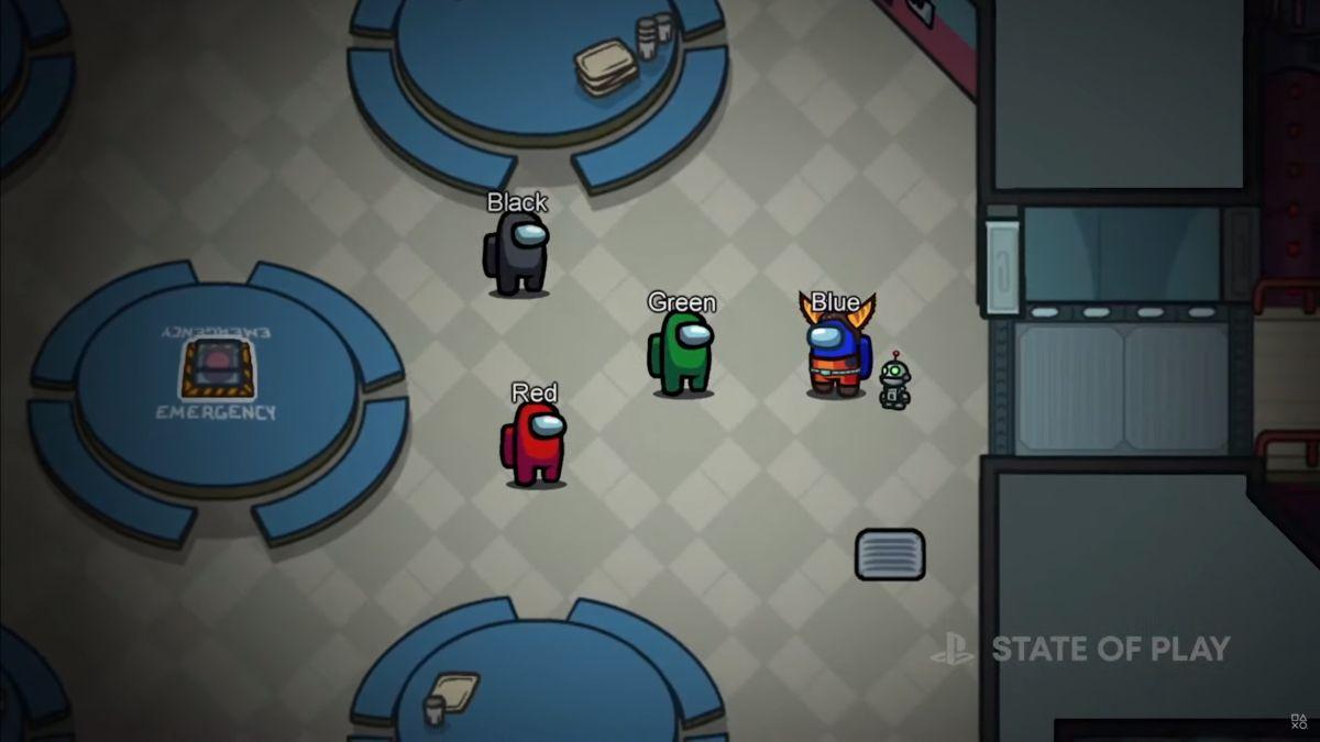 Among Us llega a PS4 y PS5 con máscaras de Ratchet & Clank