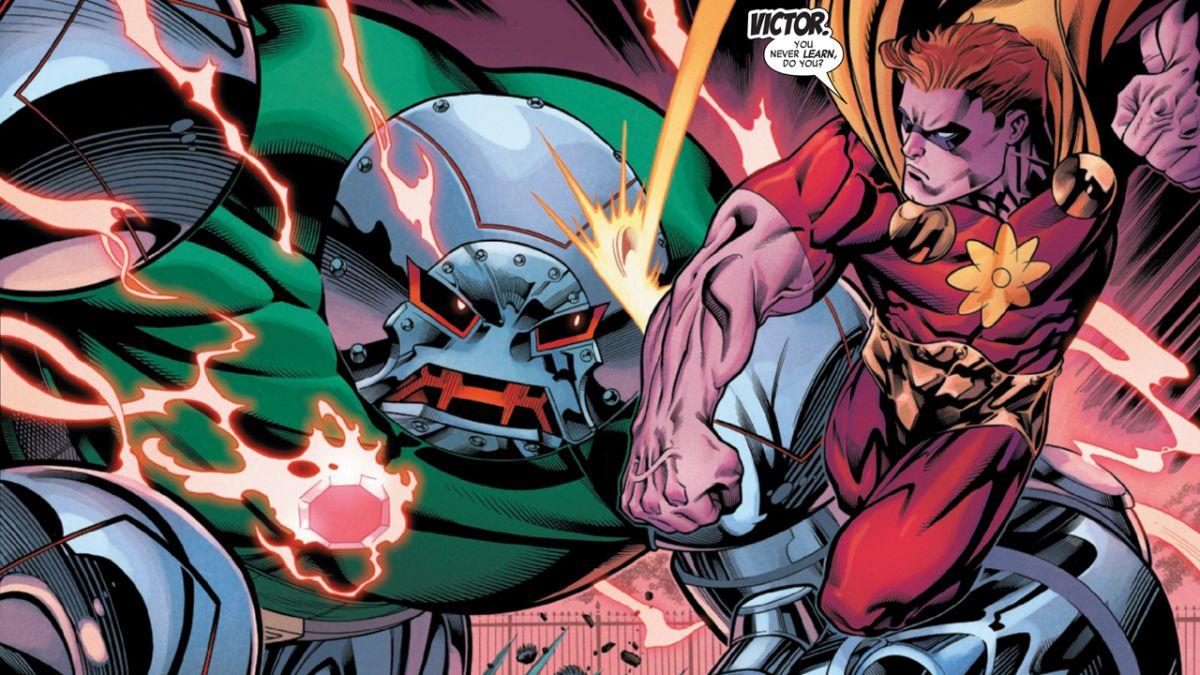 Doctor Doom obtiene una mejora increíble en la vista previa de Heroes Reborn # 1