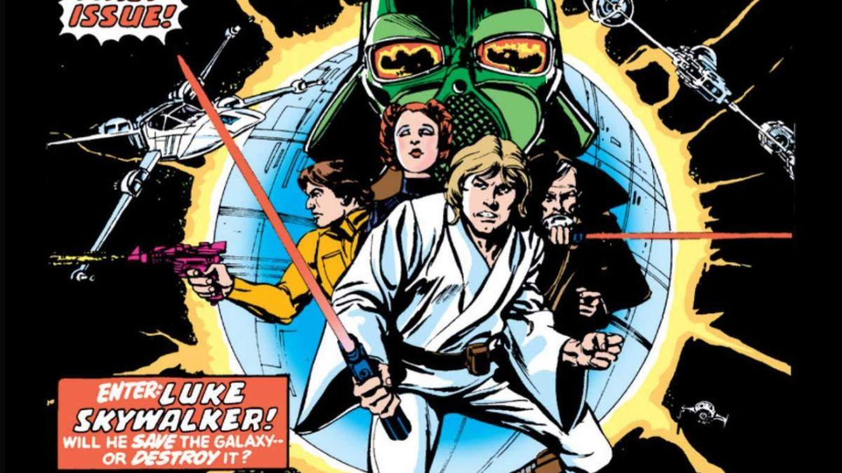 El cómic de Star Wars # 1, firmado por miembros del elenco de películas, se subasta esta semana