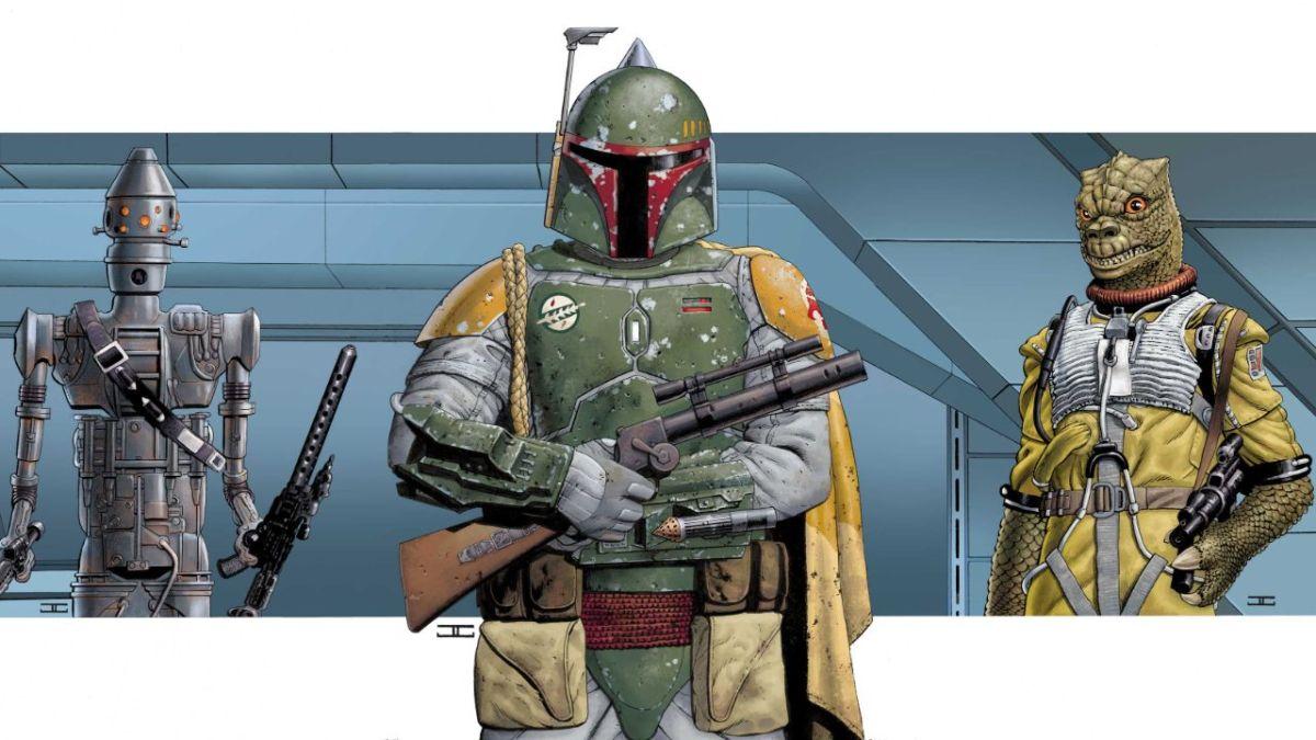 Boba Fett, IG-88 y más recibirán portadas de John Cassady para el evento Star Wars: War of the Bounty Hunters de Marvel