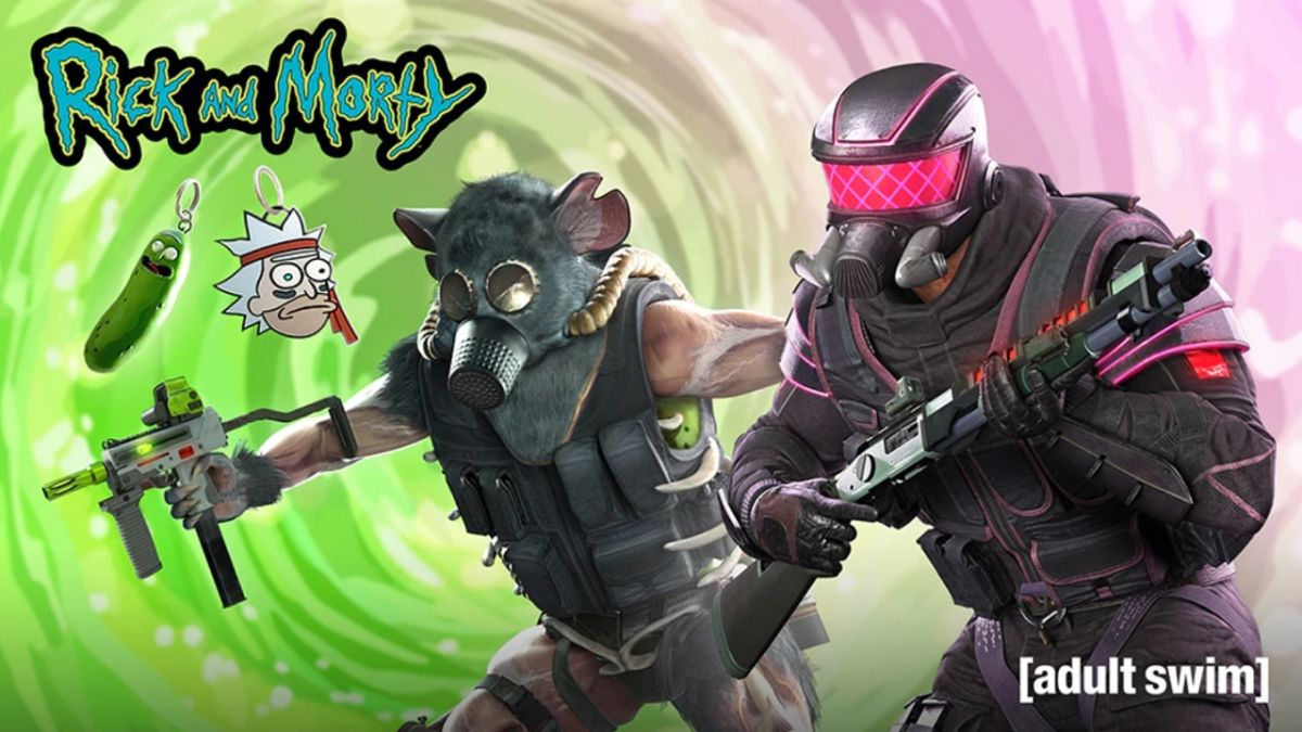 Los jugadores de Rainbow Six Siege pronto podrán jugar como Pickle Rick de Rick and Morty