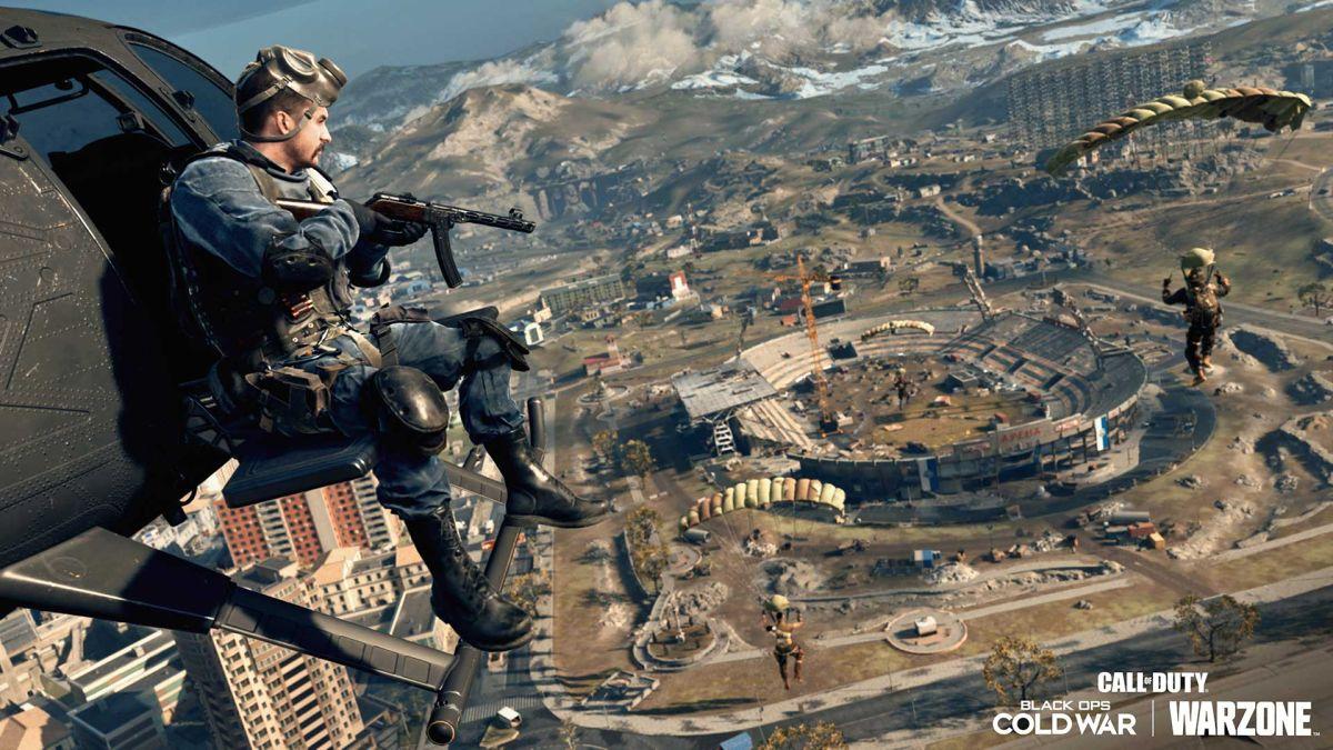 Con el último error de Call of Duty: Warzone, los jugadores pueden esconderse debajo del mapa