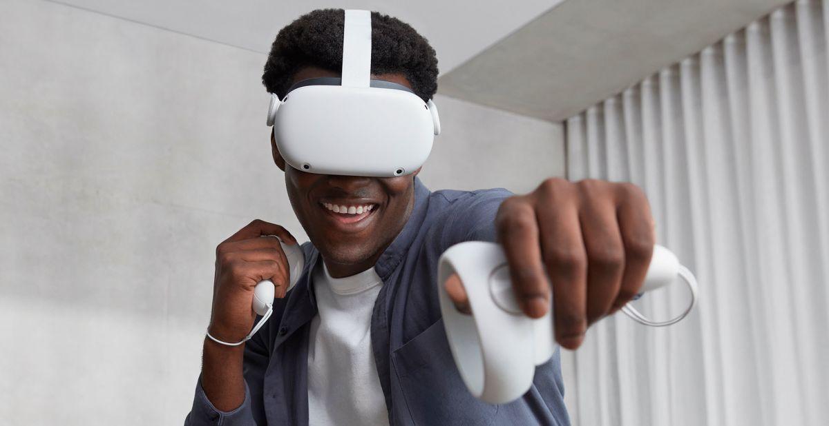 El visor de realidad virtual Oculus Quest 2 acaba de caer a su precio más bajo hasta la fecha