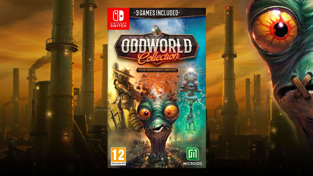 Aquí puedes comprar Oddworld: Collection en Nintendo Switch