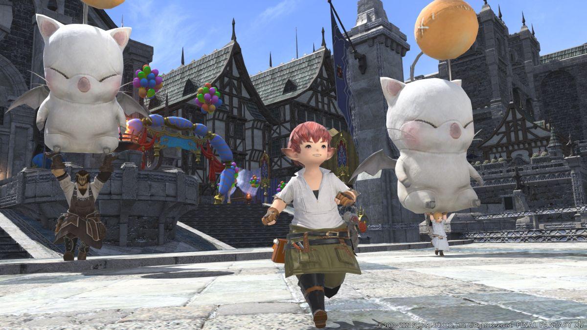 La versión de Final Fantasy 14 para PS5 tiene 3 modos gráficos: 4K, 1440p y 1080p