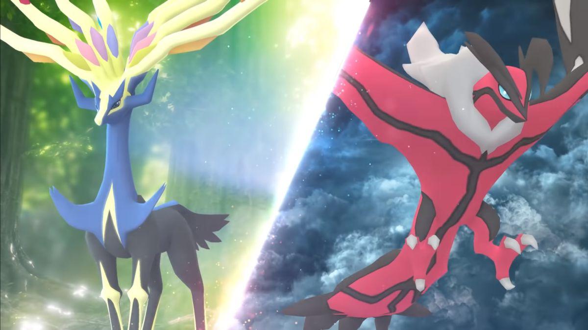 Pokémon Go obtiene las leyendas de Pokémon X e Y, Xerneas e Yveltal