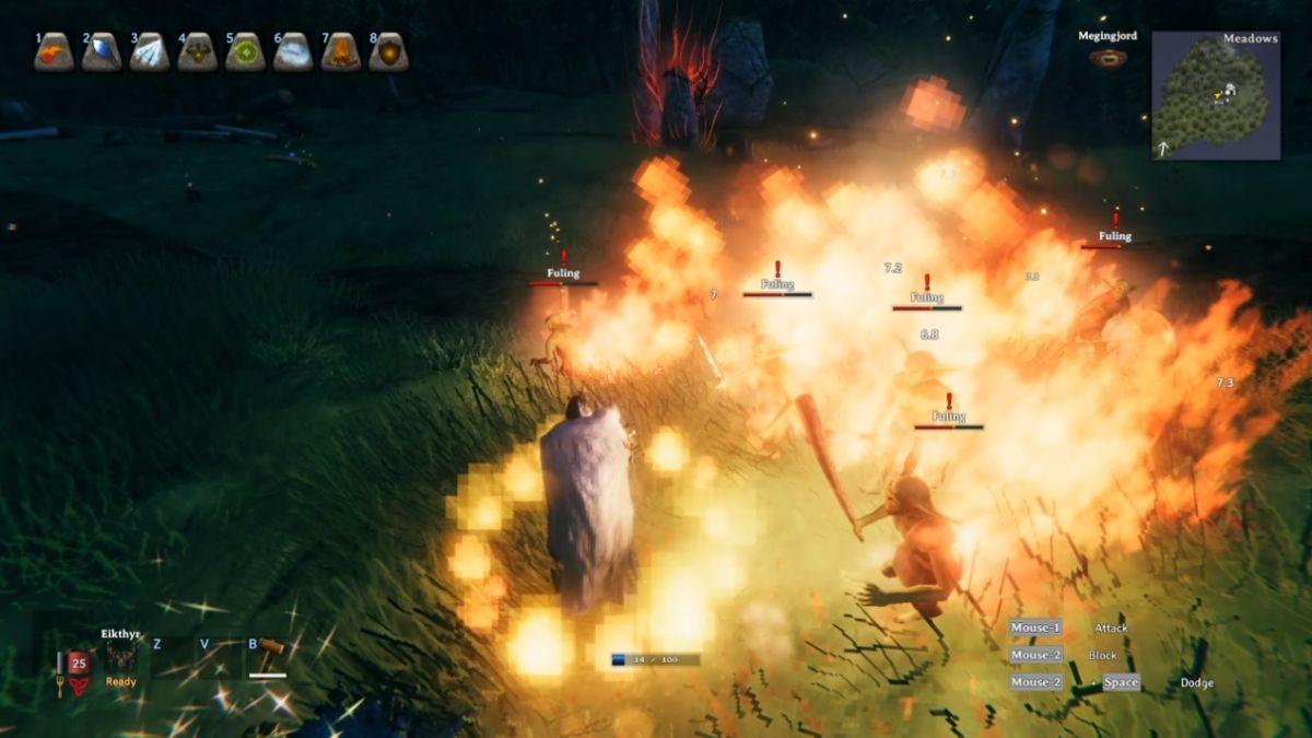Valheim Mod presenta hechizos y habilidades similares a Skyrim