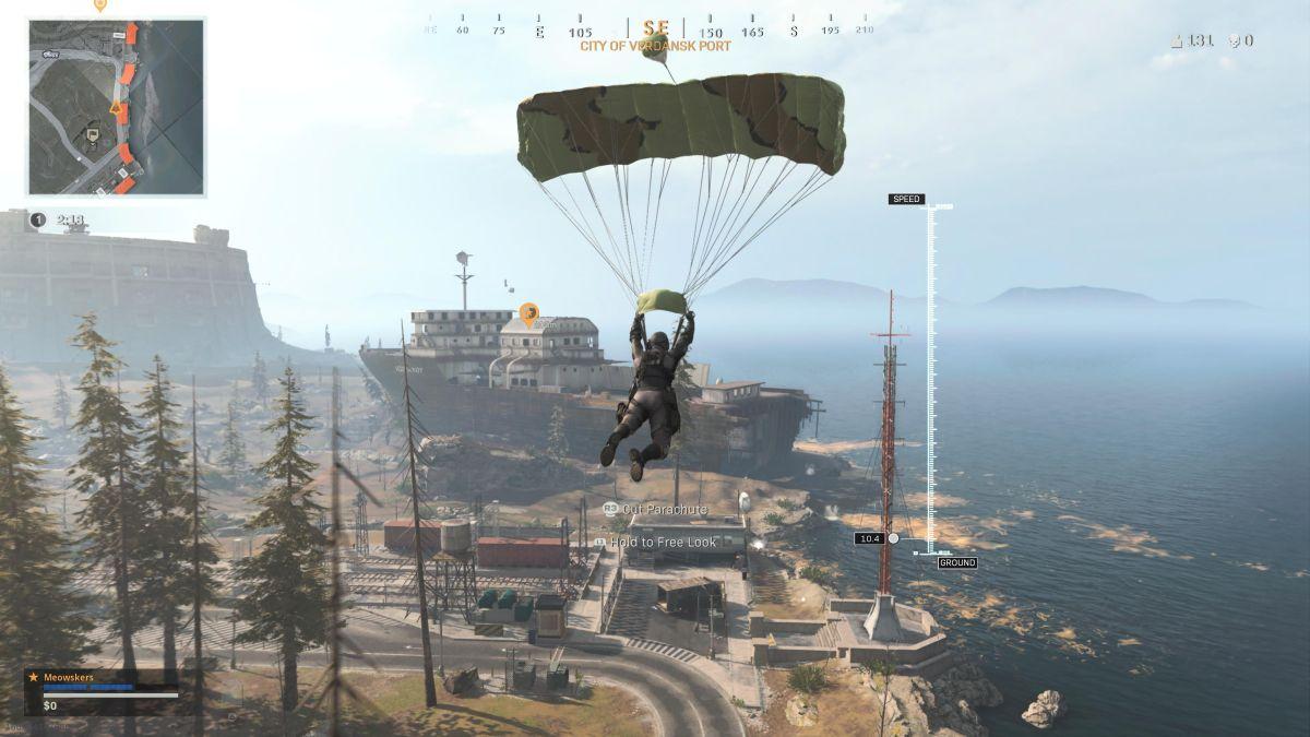 El concepto creado por fans de Call of Duty Warzone te permite ver qué equipo tienen tus compañeros de escuadrón