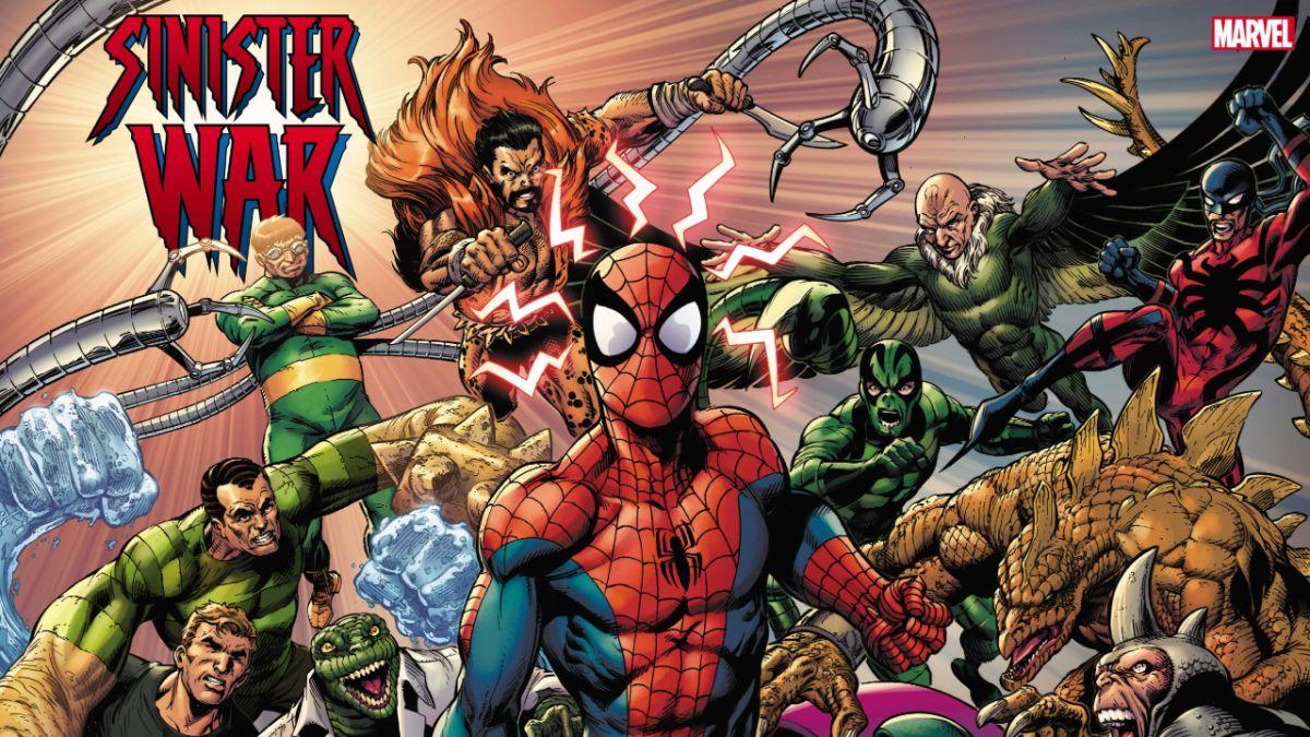 Los villanos de Spider-Man libran una guerra civil en el evento Sinister War