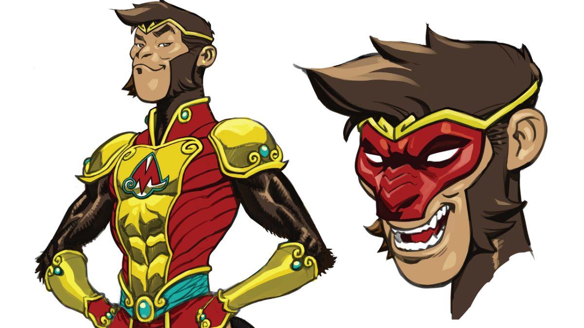 Conoce al próximo gran héroe de DC: el príncipe mono