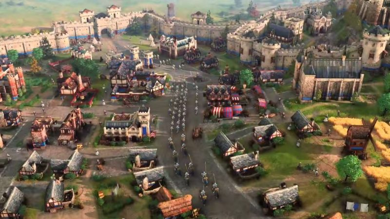 Aquí podemos jugar Age of Empires 4