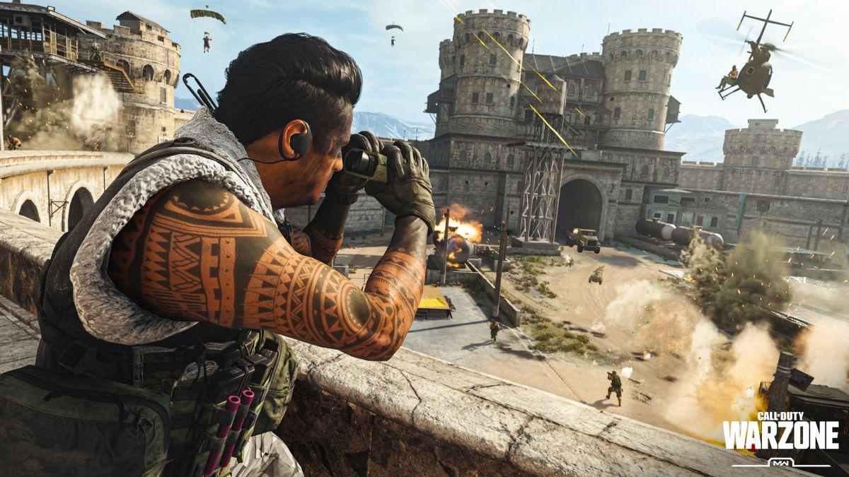 La cola del servidor Call of Duty Warzone se desborda al comienzo del evento de evacuación.
