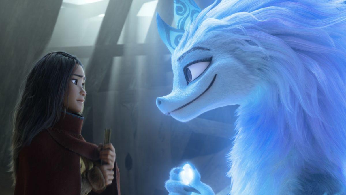 Mira esta escena eliminada de Raya y el último dragón de Disney