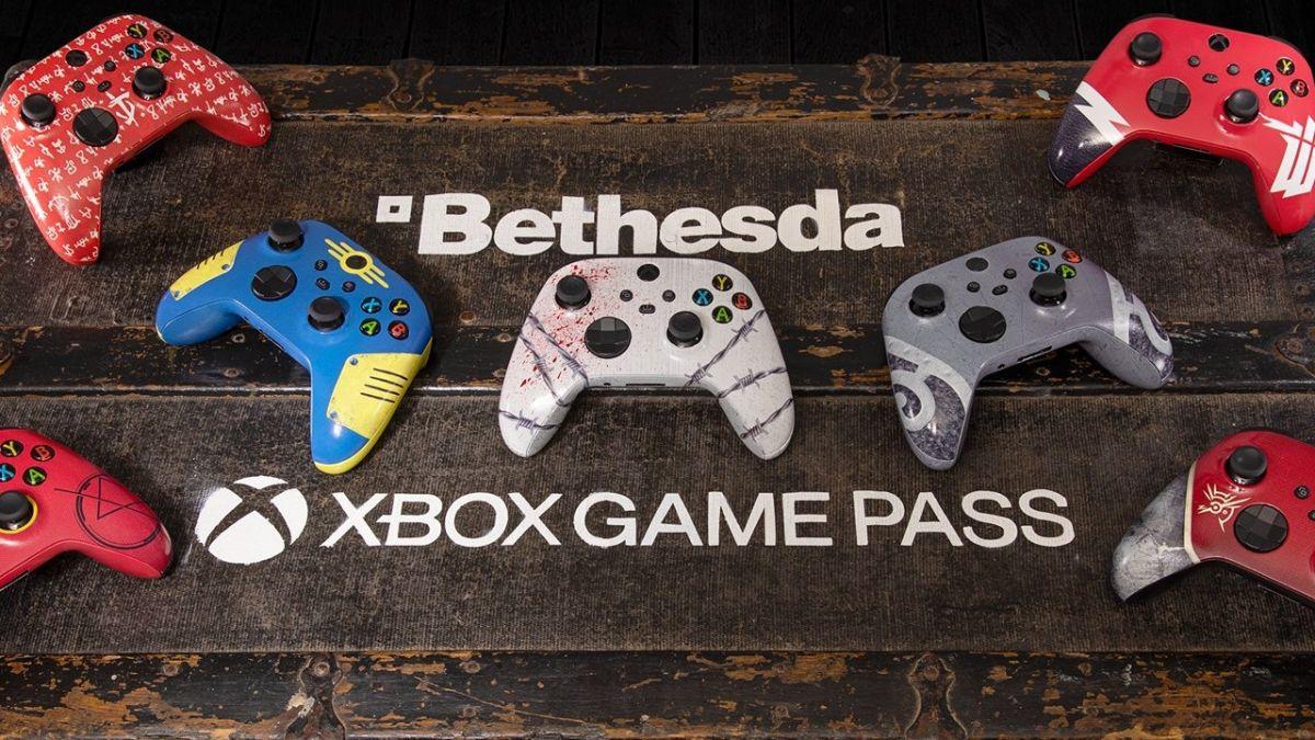 Juega juegos de Bethesda en Xbox Game Pass Ultimate y gana este mando personalizado