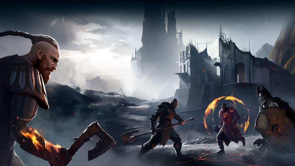 Blood of Heroes es un luchador PvP inspirado en Dark Souls ambientado en arenas nórdicas medievales.