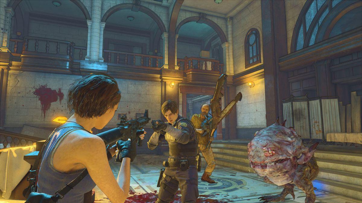 Resident Evil Re: Verse Open Beta de esta semana está disponible para descargar