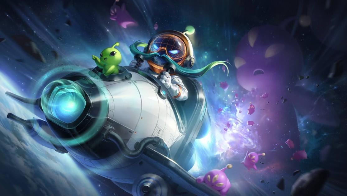 Riot revela 4 nuevos aspectos de astronauta para Veigar, Corki y más