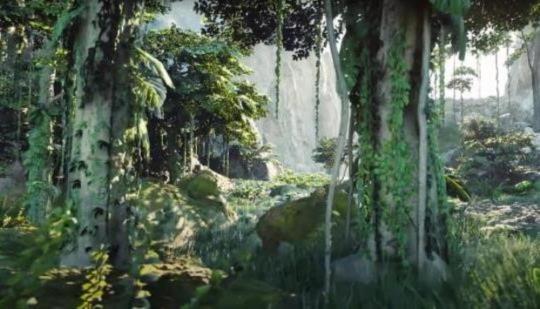 Unreal Engine 5 fascina con un bosque fotorrealista.  Así es como se ven los juegos de la próxima generación