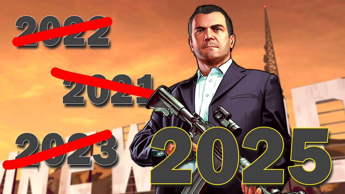 GTA 6: esperanzas rotas – ¿fecha de lanzamiento solo en 2025?