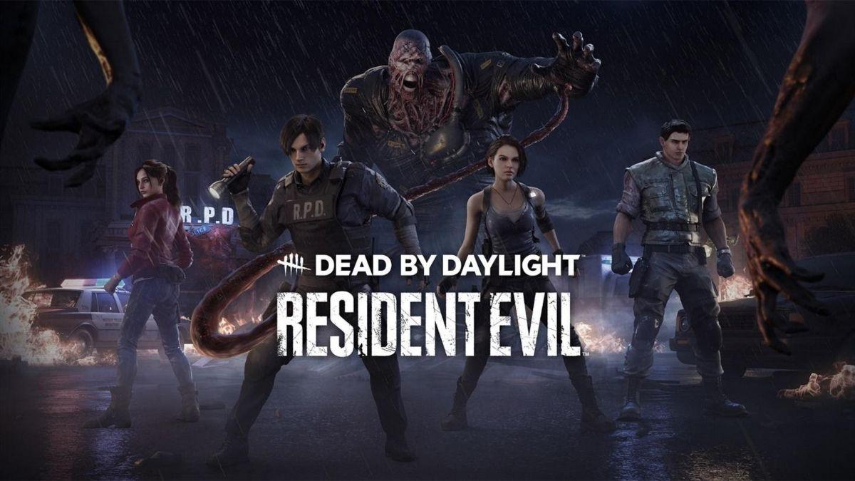 Dead By Daylight Resident Evil Crossover trae la piel de Chris y Claire Redfield Skins