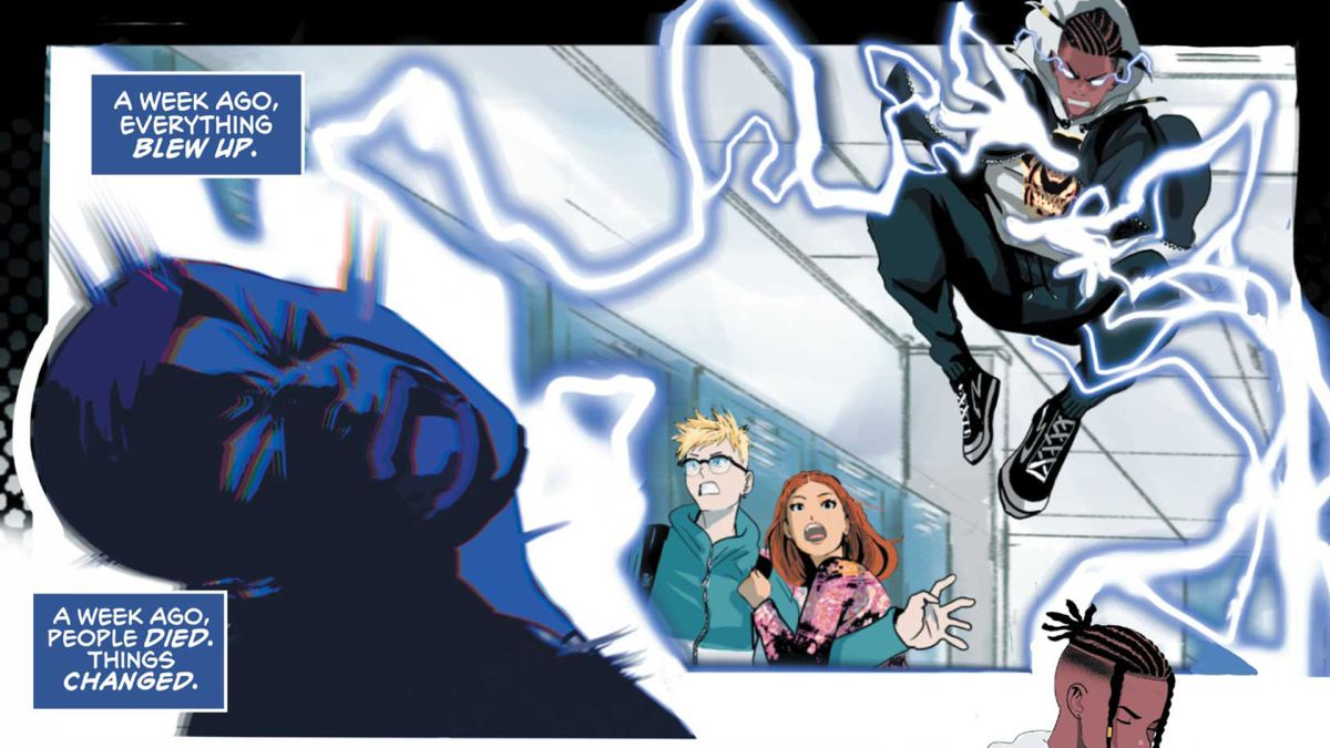 Static: Season One # 1 y la nueva edición de cool: Cover, preview, más