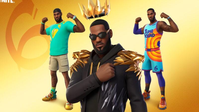 LeBron James dejará la cancha de baloncesto esta semana para saltar al campo de batalla de Fortnite en su propia piel