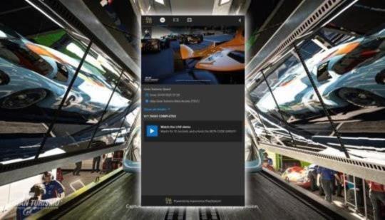 La prueba beta de Gran Turismo 7 aparece en el sitio web de PlayStation