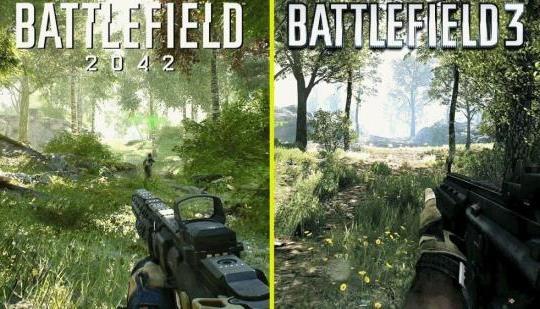 La nueva comparación de Battlefield 2042 destaca las mejoras visuales en los mapas de retorno