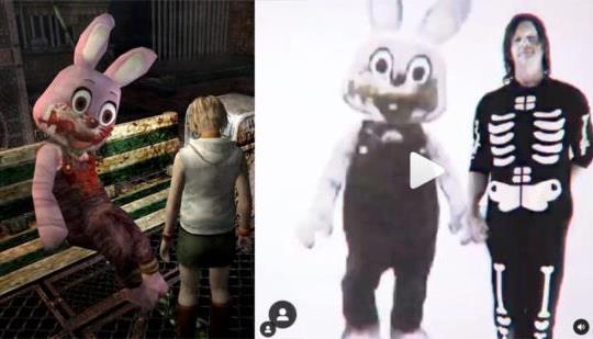 Norman Reedus desencadena Internet con Robbie The Silent Hill Rabbit