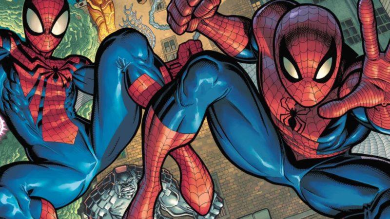 """Ben Reilly y Peter Parker se unen para las nuevas portadas de """"Spider-Man Beyond"""""""