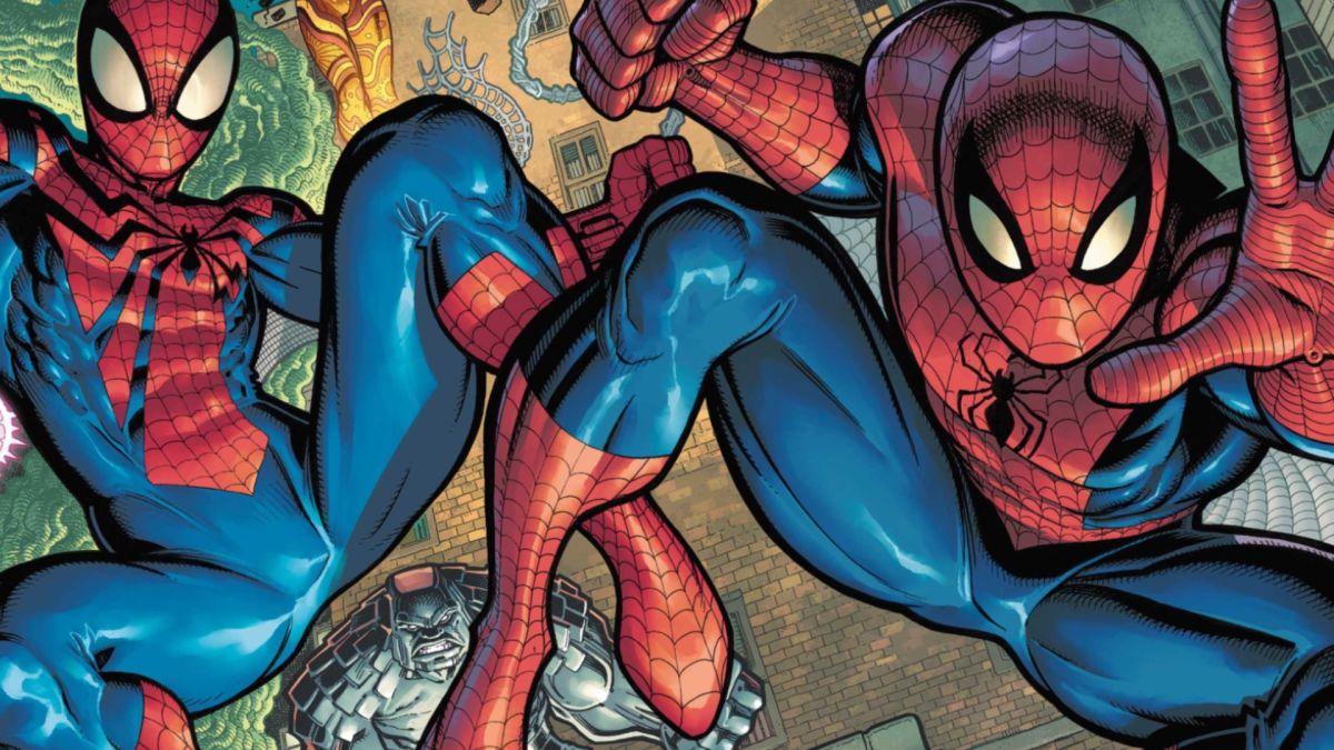 Ben Reilly y Peter Parker se unen para las nuevas portadas de «Spider-Man Beyond»
