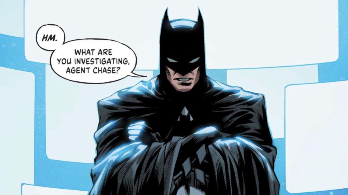 Batman y Chase se encuentran en Infinite Frontier # 2