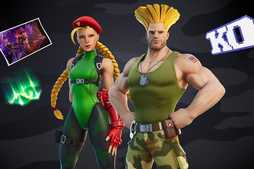 Fortnite recibirá a Cammy y Guile, los míticos personajes de la saga de lucha de Capcom