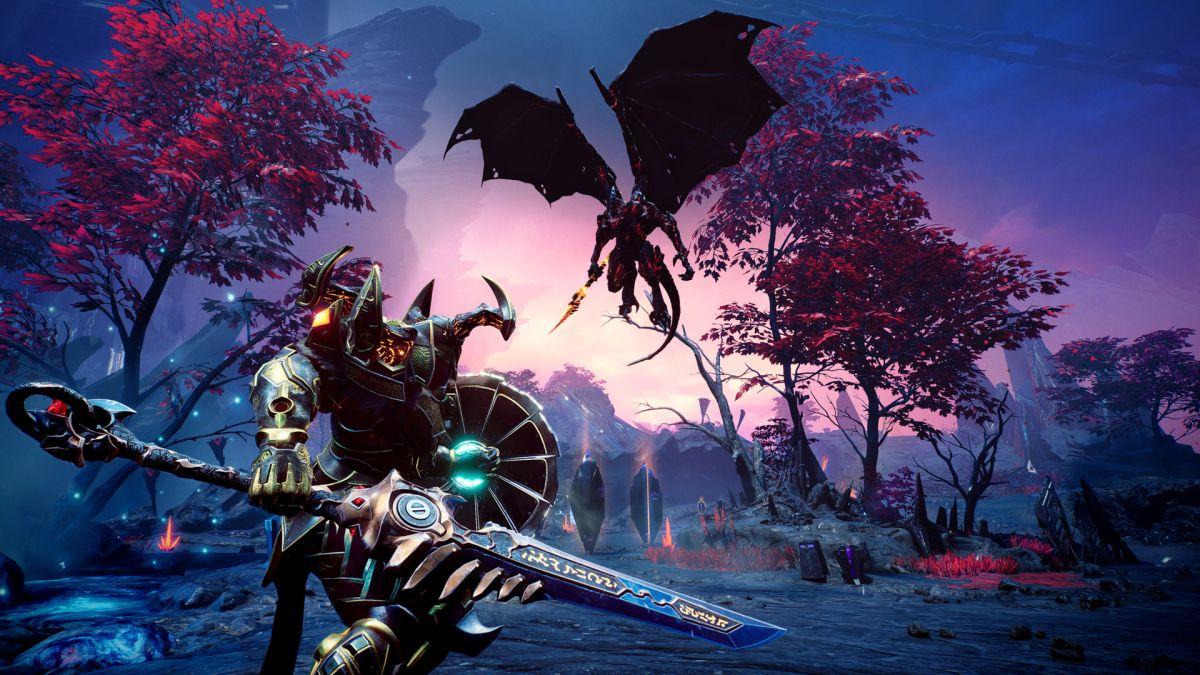 Godfall está recibiendo su gran expansión Fire & Darkness justo a tiempo para el lanzamiento de PS4