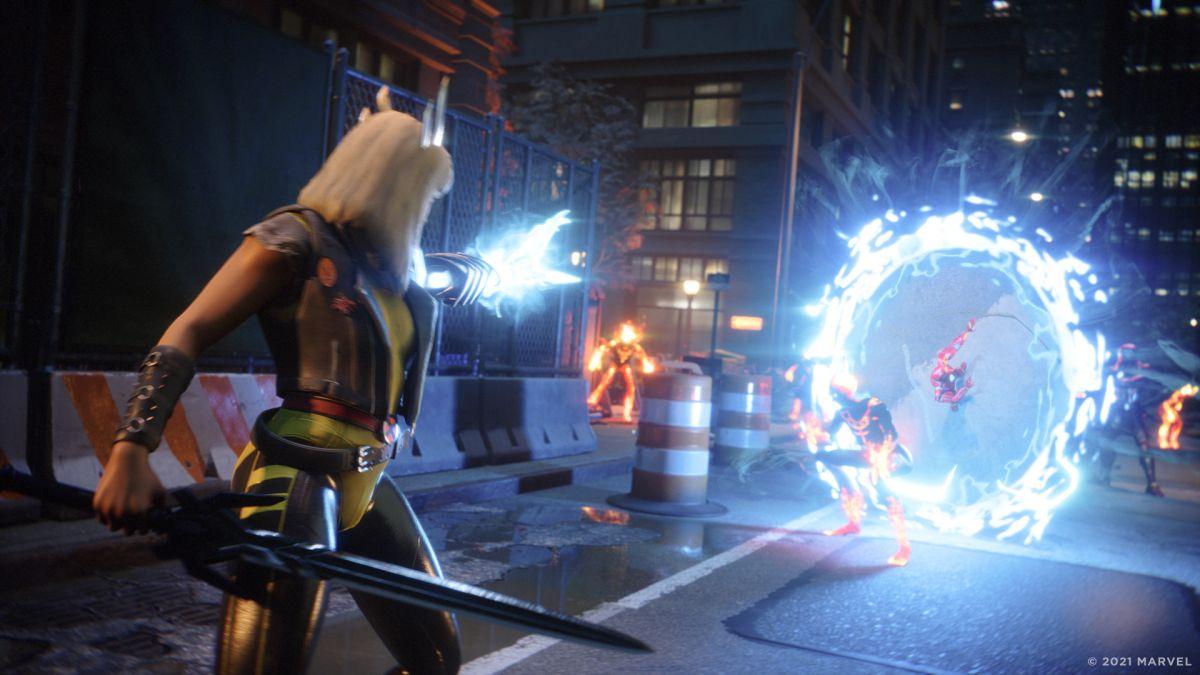 Marvel's Midnight Suns tiene secciones en tercera persona que se sienten más como un juego de aventuras