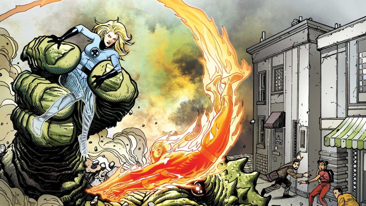 Las historias clásicas de Lee & Kirby Fantastic Four se reinterpretan para el 60 aniversario