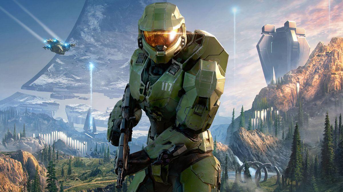 El diseño dinámico de fondo y perfil de Halo Infinite lleva su consola a Zeta Halo