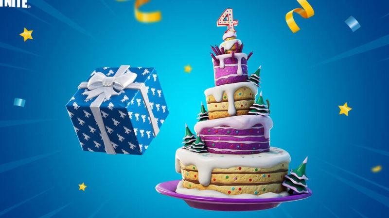 ¿Dónde están los pasteles de cumpleaños en el mapa de la temporada 8 de Fortnite?