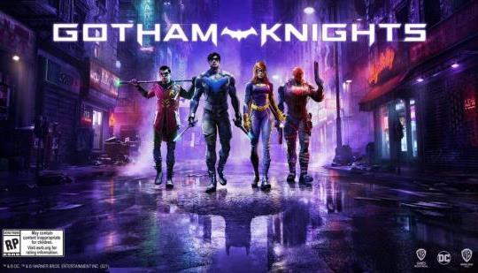 Gotham Knights revela un nuevo arte clave;  Más noticias en octubre