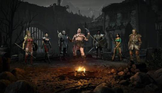 No creerás estas pantallas de comparación de Diablo 2