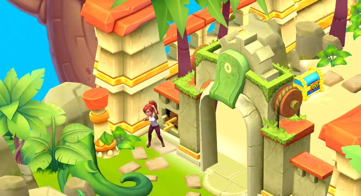 Temple Run regresa con un nuevo juego de combinar 3 disponible exclusivamente para Apple Arcade